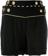 Pierre Balmain buttoned waist shorts - women - Silk - 40