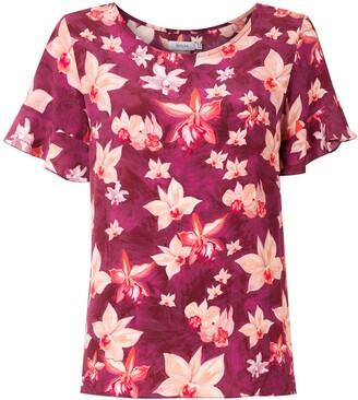 Isolda Anai silk crepe blouse