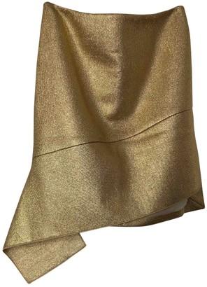 Reed Krakoff Metallic Cotton Skirt for Women