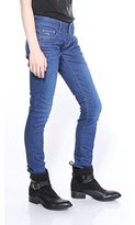 G Star Women's 3301 Low Skinny Benwick Stretch Denim Dark Aged Jean