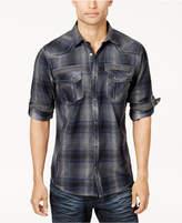 INC International Concepts Men's Plaid Shirt, Created for Macy's