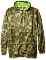Russell Athletic Men's Big and Tall Fleece Camo Pullover Hoodie Sweatshirt