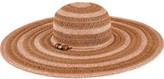 San Diego Hat Company Women's Ultrabraid Sun Brim Hat with Beaded Trim UBL6489