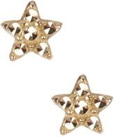 Candela 14K Yellow Gold Petite Star Stud Earrings