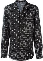Dolce & Gabbana horseshoe print shirt - men - Silk - 40