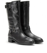 Tod's BELTED LEATHER BOOTS