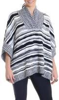 525 America Stripe Pullover Poncho