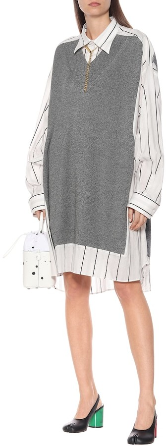 Thumbnail for your product : Maison Margiela Cotton midi dress