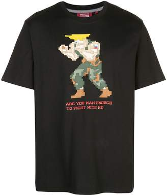 Mostly Heard Rarely Seen 8-Bit Are You Man Enough To Fight With Me pixelated T-shirt