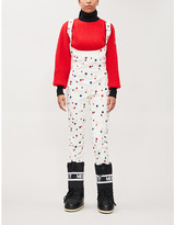Selfridges Moncler Genius Star-embroidered stretch-twill jumpsuit