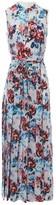 Mary Katrantzou Blue Silk Dress for Women