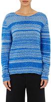 The Elder Statesman Women's Cutter Sweater-BLUE