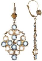 Sorrelli Swarovski Crystal Accented Chandelier Earrings