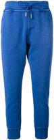 DSQUARED2 slim logo track trousers - women - Cotton - XS