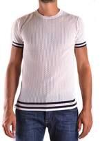 Daniele Alessandrini Men's White Cotton T-shirt.