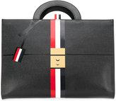 Thom Browne Trompe L'Oeil briefcase folio