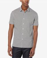 Perry Ellis Men's Dot Short-Sleeve Shirt