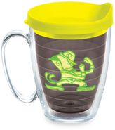 Tervis University of Notre Dame 15-Ounce Emblem Mug with Lid in Neon Yellow