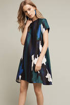 Anthropologie Abstract Printed Swing Dress