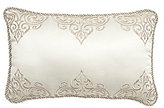 Veratex Valenti Scroll-Embroidered Sateen Boudoir Pillow