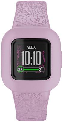 Garmin VivoFit JR3 Activity Tracker - Floral Pink