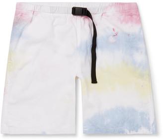 John Elliott Tie-Dyed Cotton Shorts