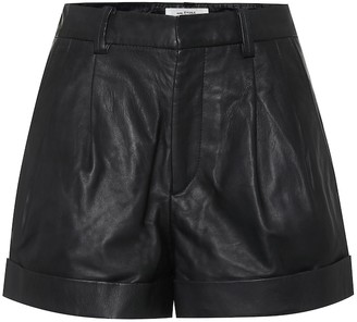 Etoile Isabel Marant Isabel Marant, étoile Abot high-rise leather shorts
