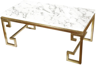 A&B Home A & B Home Marble Coffee Table