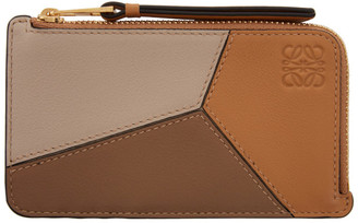 Loewe Tan Puzzle Coin Pouch