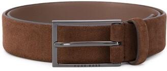 BOSS Textured Buckle Belt
