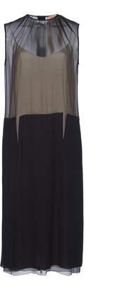 N°21 Gertrude Mixed-Media Dress
