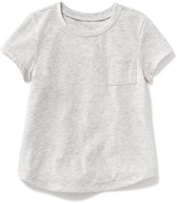 Old Navy Crew-Neck Pocket Tee for Toddler Girls