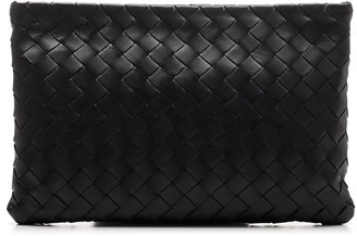 Bottega Veneta Woven Large Pouch Bag