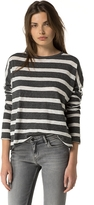 Tommy Hilfiger Stripe Long-Sleeve Tee