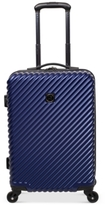 "Revo CLOSEOUT! Stripes 21"" Expandable Spinner Suitcase"