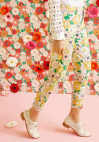 ModCloth Exuberant Intrigue Pants in Retro Daisy in S