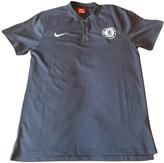 Nike Blue Polyester Polo shirts