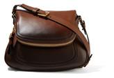 Tom Ford Jennifer Medium Ombré Leather Shoulder Bag - Dark brown