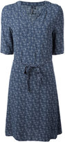 Woolrich printed shirt dress - women - Viscose - M