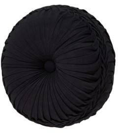 J Queen New York J Queen Midnight Mist Black Tufted Round Bedding