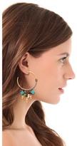 Lizzie Fortunato Soul Town Hoop Earrings