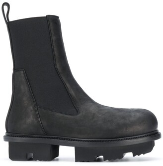 Rick Owens Chunky Ankle Boots