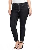Lauren Ralph Lauren Plus Skinny Ankle Jeans in Asphalt