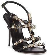 Oscar de la Renta Imogene Crystal Stiletto Sandal