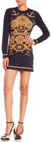 Love Moschino Long Sleeve Nautical T-Shirt Dress