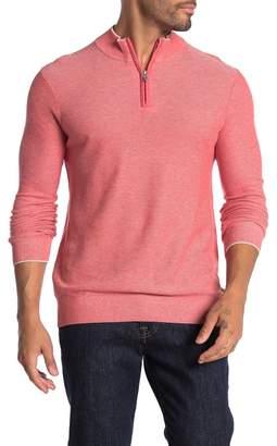 Raffi Front Quarter Zip Knit Pullover