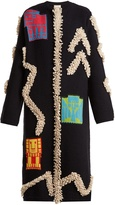 Peter Pilotto Round-neck textured-knit cardigan