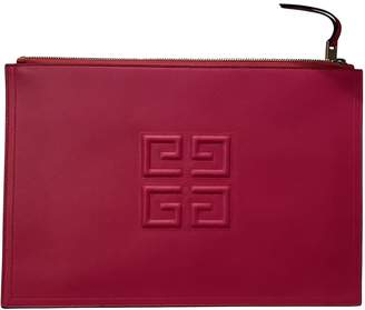 Givenchy Pink Leather Clutch bags