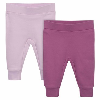 Gerber Grow by Baby Girls Organic 2-Pack Pants
