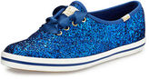 Kate Spade x Keds glitter lace-up sneaker